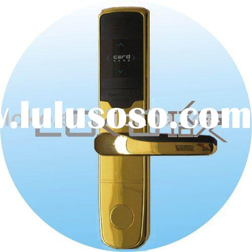 RF card electronic hotel lock for door  (L-A78RF-GC)