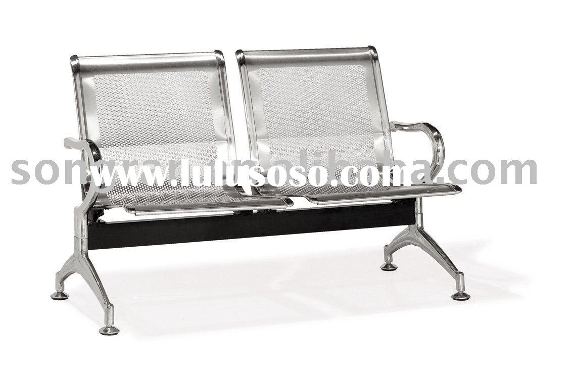 The new style stainless steel B-02-08 public waiting chair