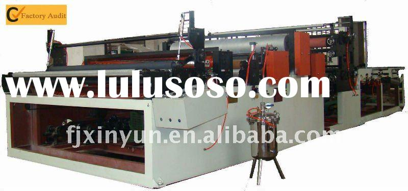 Towel Paper and Toilet Paper Rewinding and Perforating Machine