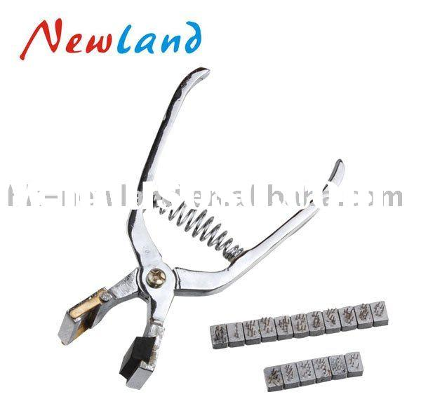 Veterinary Tattoo plier