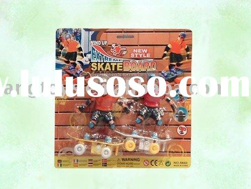 Wind-up 4 Wheel Finger Skateboard,Skate Games, Skateboard Toys