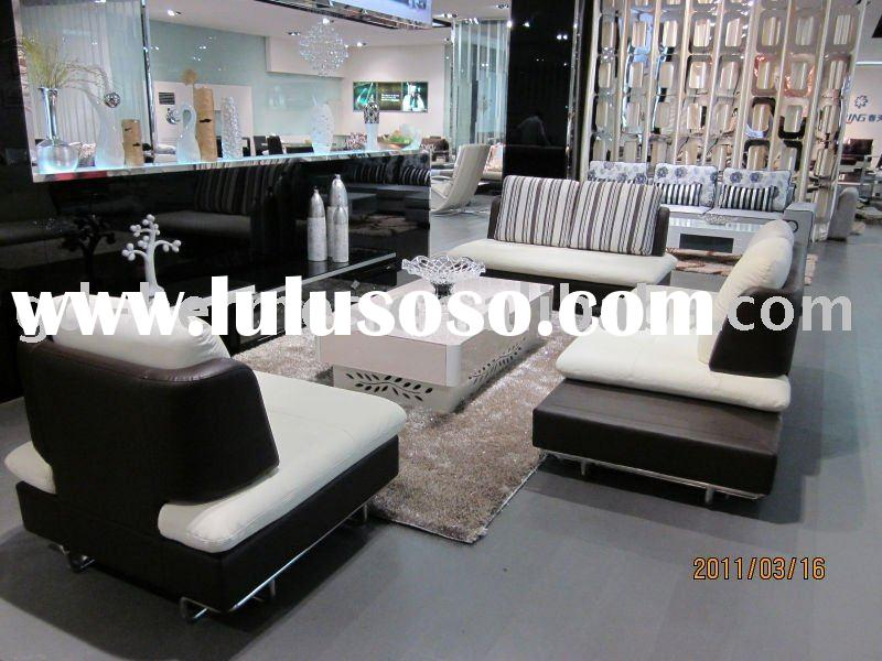 hot sale leather sofa set/ living room furniture/modern home furniture