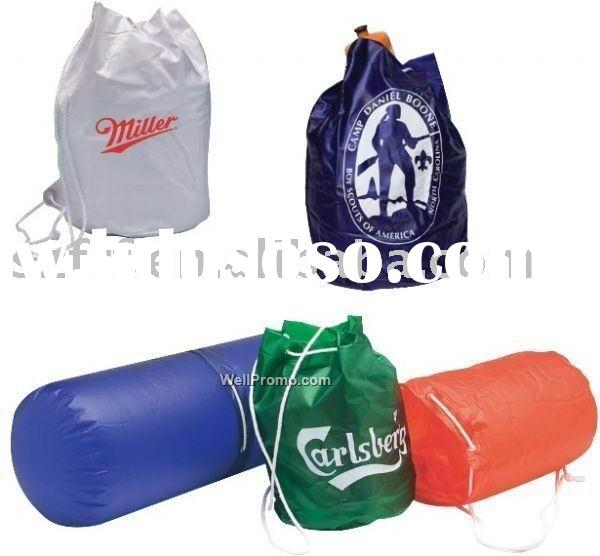 inflatable Pillow Bag,inflatable cylinder pillow bag,inflatable pillow backpack,inflatable beach pil
