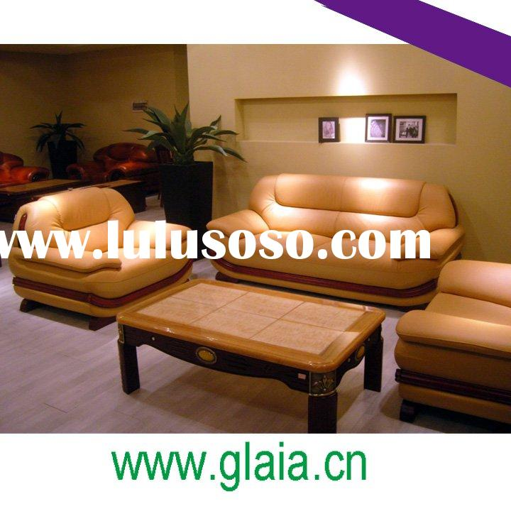 leather sofa set furniture for living room P239