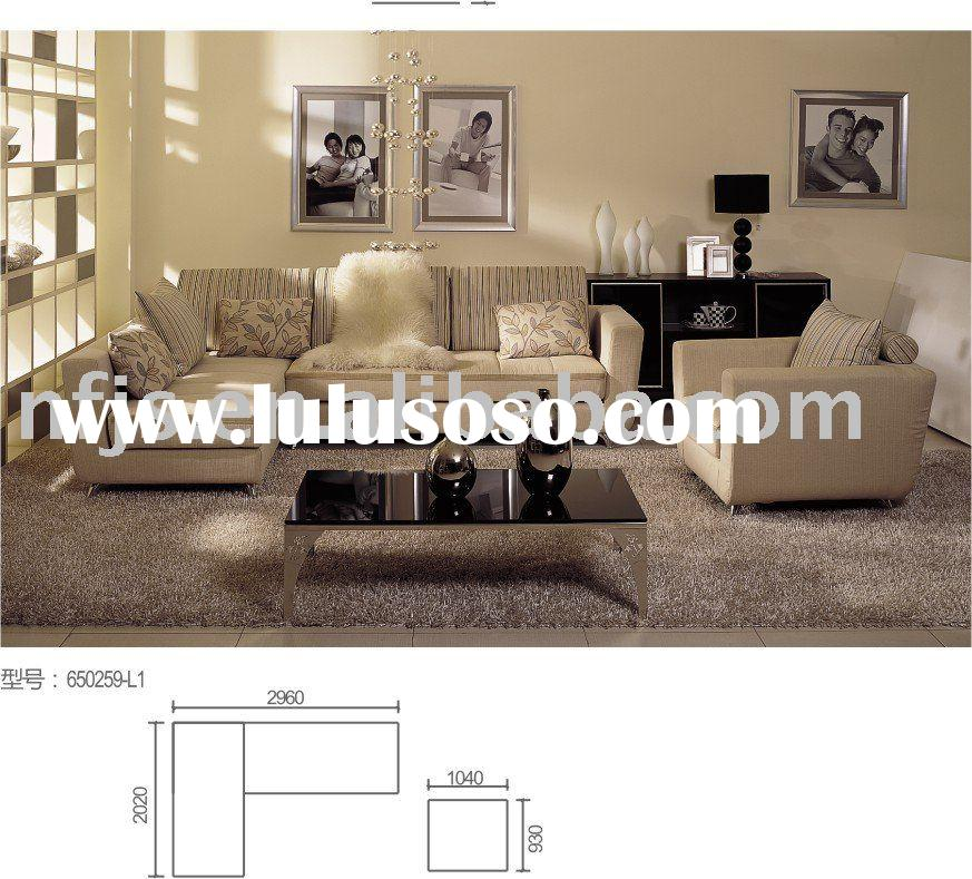 nice design drawing room fabric sofa set