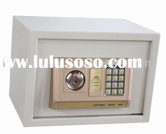 security safe box,Electronic Safe with digital keypad and key lock,Hotel Safe Box