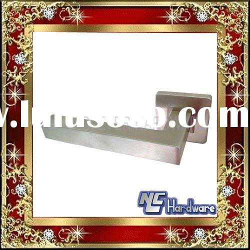 stainless steel square tube door locks and handles