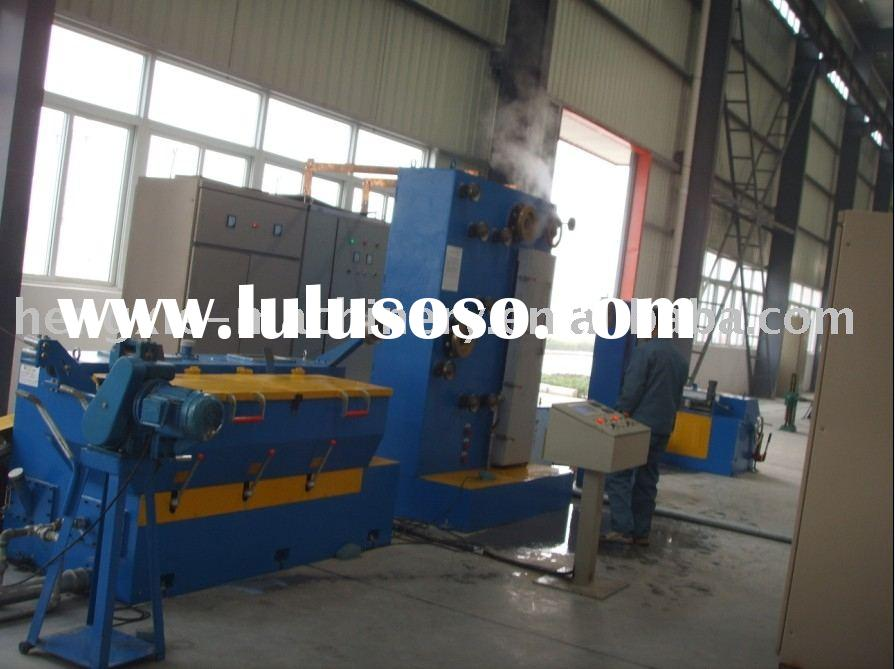 17 dies medium copper wire drawing machine with continuous annealer