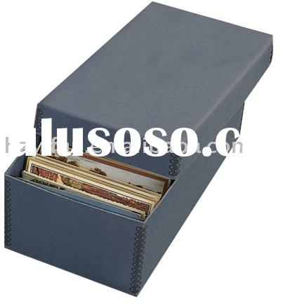 2011 new style foldable file storage corrugated Plastic box with lid(YF5005)