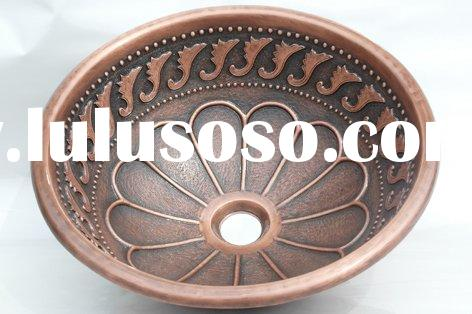 Copper Sinks,Copper Basins,Copper Bowls,Handmade Copper Sinks,Handmade Copper Sink,Bathroom Sinks,Co