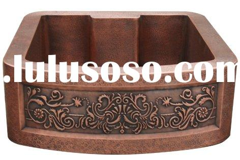 Customized Copper Sink with Apron,Kitchen Sink,Farmhouse Sink,Copper Basin,Copper Bowls