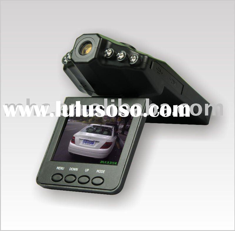 "H.264 Video Format Portable Recorder Car Black Box W380 HD DVR with 2.5"" TFT LCD Screen Car Cam"
