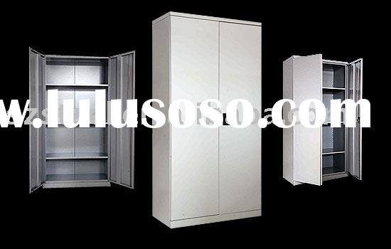WHITE STORAGE CABINET WITH DOORS | Cabinet Doors