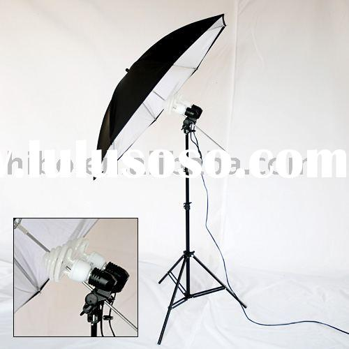 Professional Photo Studio Light Kit with double lamp holder(929017)