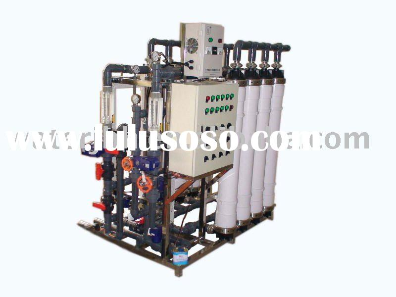 Ultra filteration plant for waste water treatment
