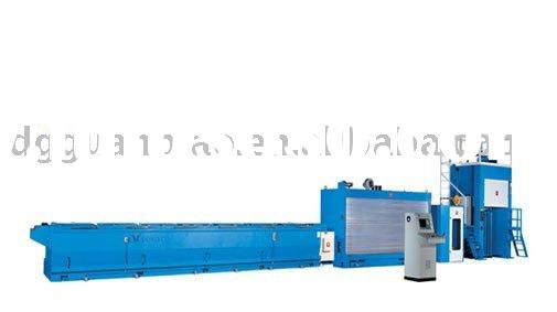 large heavy copper rod wire drawing machine 10 or 11 dies