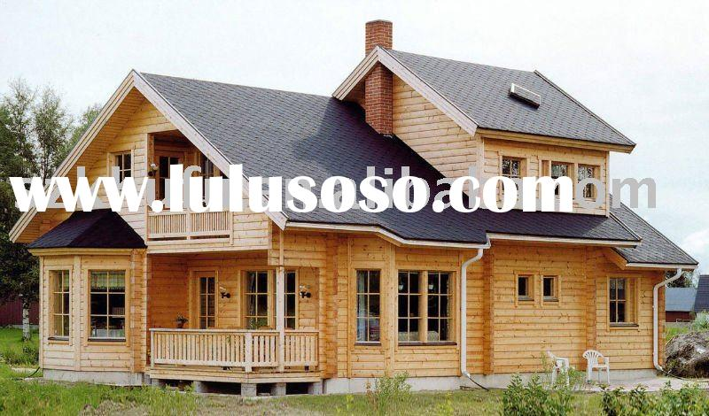 wood house mobile house prefab houses 60years warranty