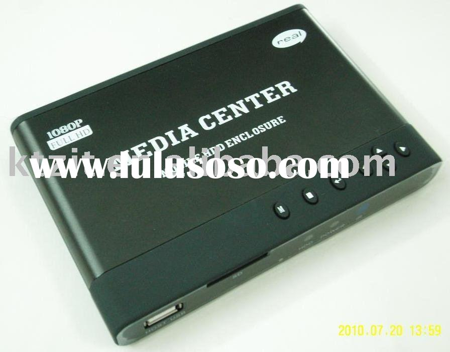 1080p media player / MKV, H.264, FLV, Mov, hdmi media player full hd media player, hdd player