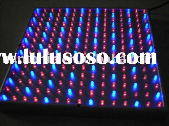 12 Volt DC Hydroponic LED Grow Light Panel Red Blue