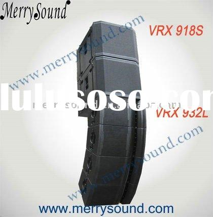 "12"" line array, JBL pro speaker, sound system (VRX932L/VRX918S)"