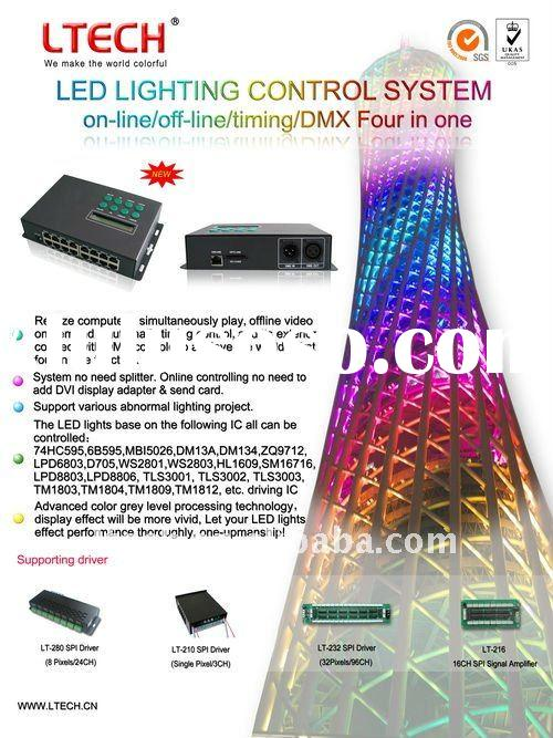16 Channels LED Lighting Control System