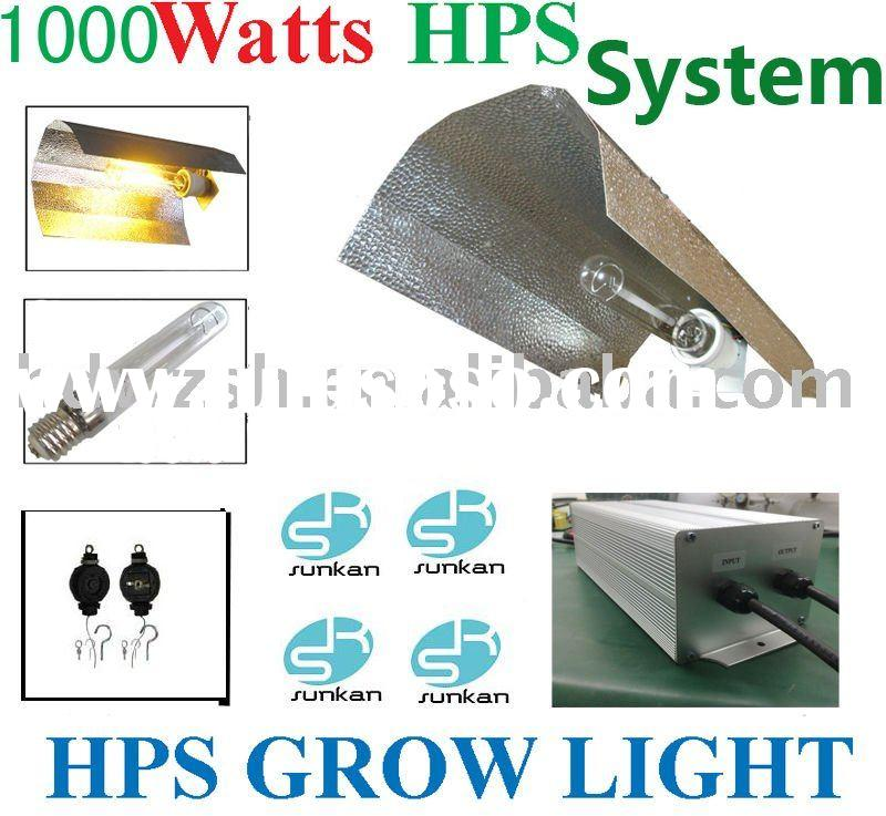 250W,400W,600W,1000W HPS growing light system for Hydroponics lighting,110-250V.CE,UL,TUV,DIN,ROHS a
