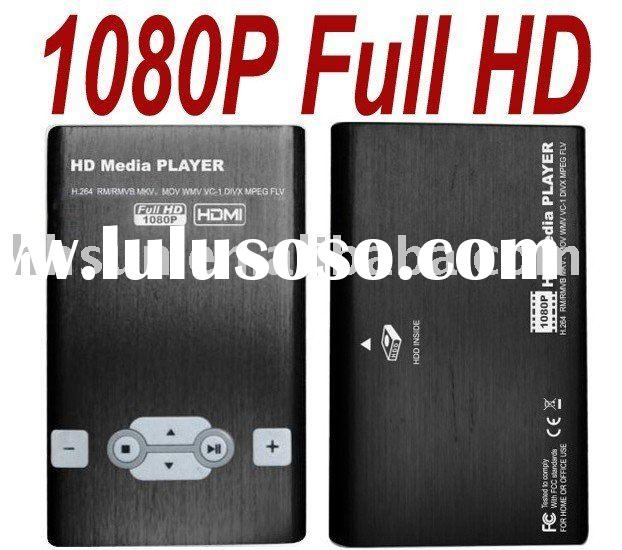 "2.5"" SATA HDD 1080P Media Player"