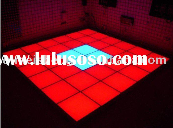43mm thickness LED dancing floor light ( LED Sensor Brick)