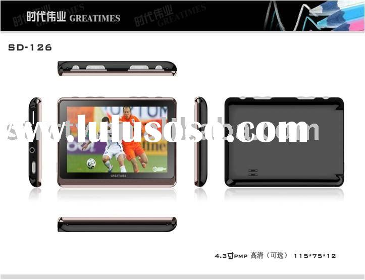 "4.3"" portable digital mp4 player with camera"