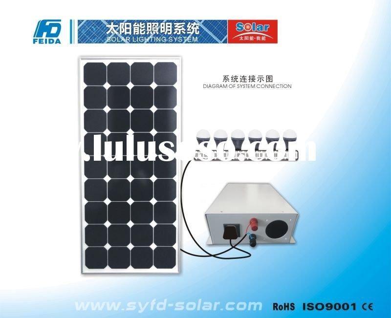 50W solar led lighting systems