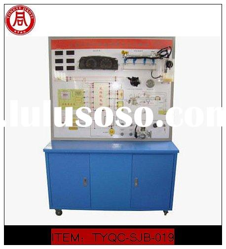 Automotive electronic fuel injection system demonstrating board(teaching model)
