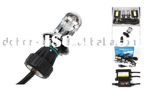 BI-XENON H4 (Hi/Lo) 6000K HID LAMPS COMPLETE CONVERSION KIT with Slim Ballast