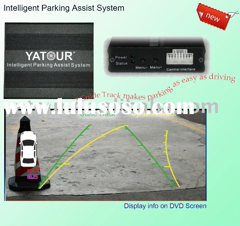 Car Reversing Aid (Intelligent Parking Assist System) used in Toyota