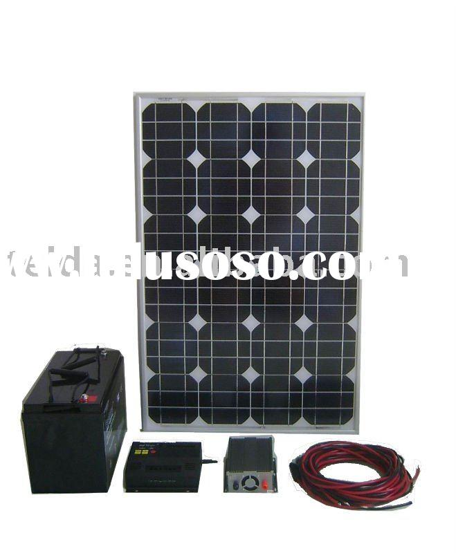 Diy 200w solar system for home charger
