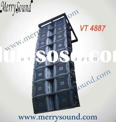 "Dual 8"" line array speaker, JBL pro loudspeaker, audio system (VT4887)"