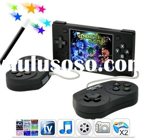 Free Shipping - Letcool Gamestation 4G Portable Handheld Video Game System 4GB (Black)