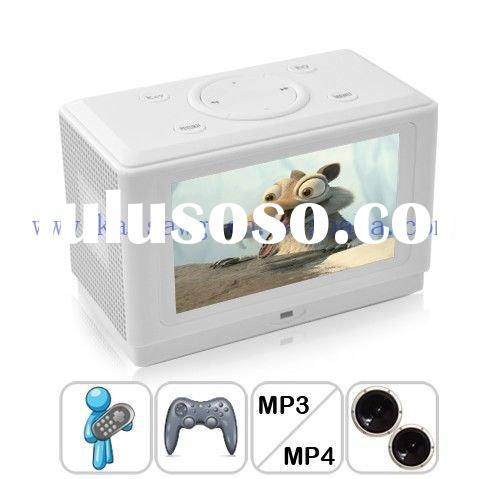 Free Shipping Multimedia MP6 Player Sound System and Game Console