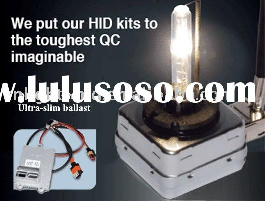 HID auto lighting system with D1S HID lamps