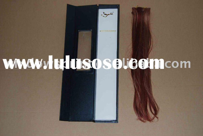 Hair Extension Box with clear window