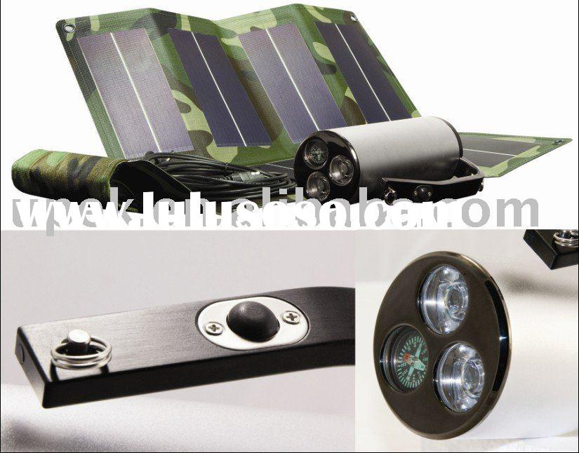 High Intensity Beam Wearing Solar Powered Rechargable Special Forces army using Torch