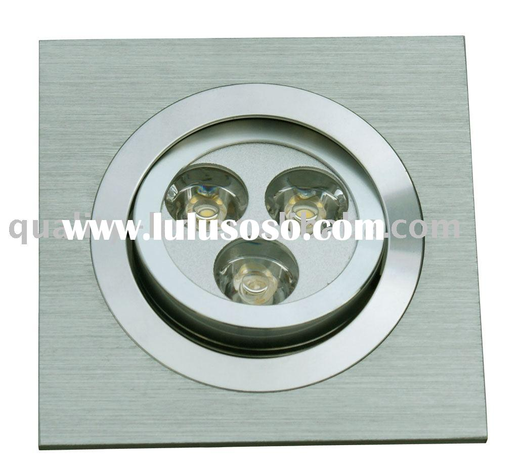 LED Down Light,Rectangular recessed LED downlight,LED ceiling light