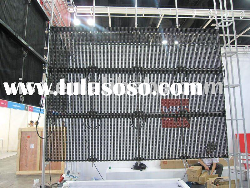 Out door full color SMD LED video  wall for advertising P20