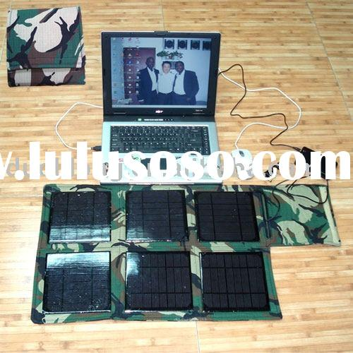 Portable solar power with lighting function, portable solar generator, solar home system