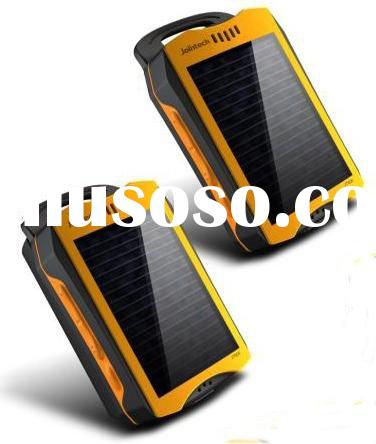 Solar GPS Tracker With Emergency Lighting.