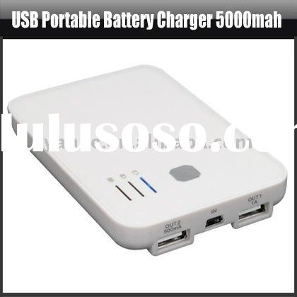USB Portable Battery Charger 5000mah For Ipod iPhone MP3/4,YAP403A