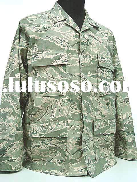 US Air Force ABU Camo Airman Battle BDU Uniform