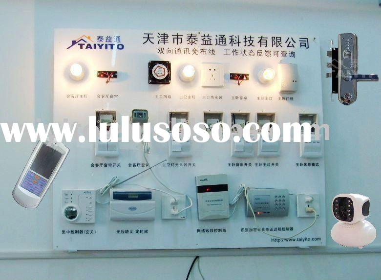 X10 home automation wireless lighting control system in house/hotel