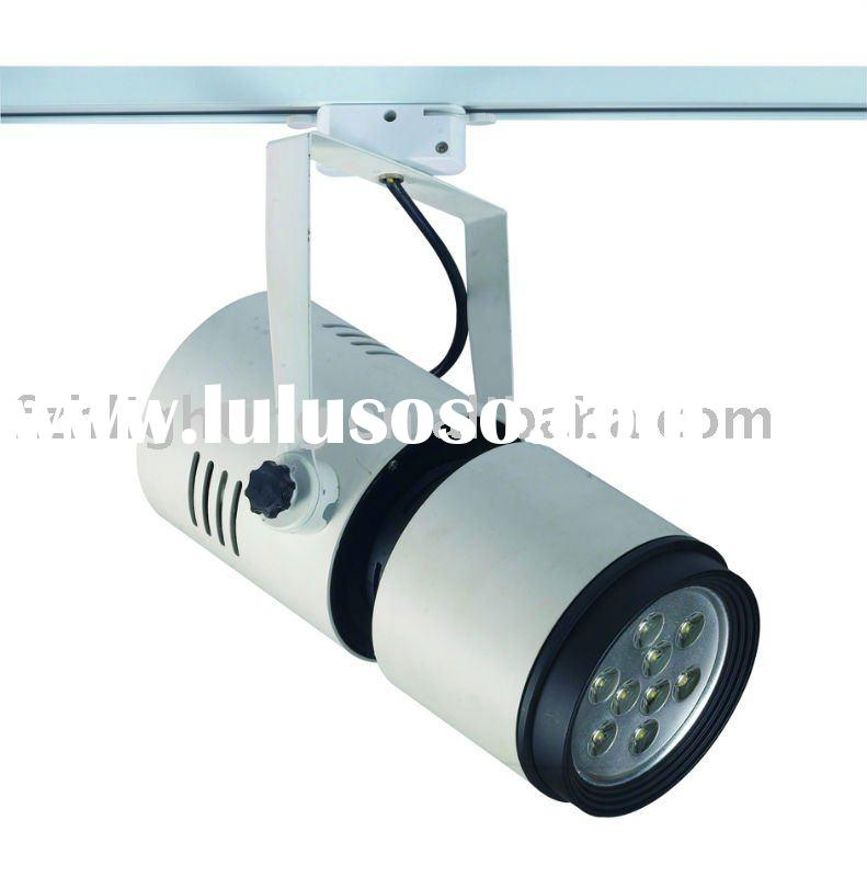 barrel led track light 9X3W  edison