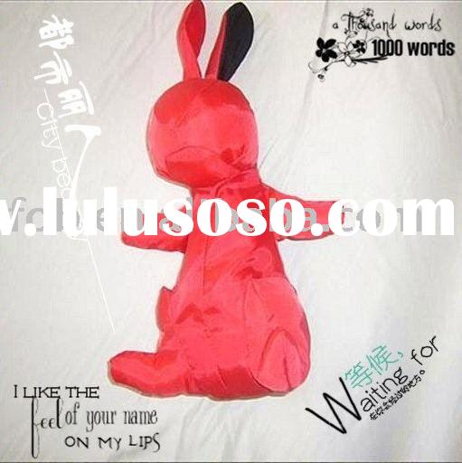 folding bag/non woven/shopping bag/rabbit