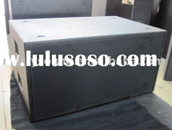 high power subwoofer, outdoor live sound system, line array, pro audio loudspeaker, (SUB-218)